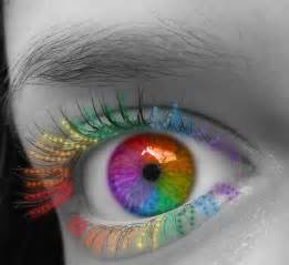 colorful eye makeup majesty rainbow