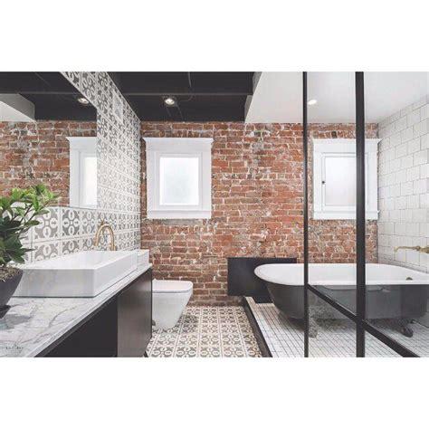 brick bathroom wall 25 best ideas about brick bathroom on pinterest brick veneer wall brick accent