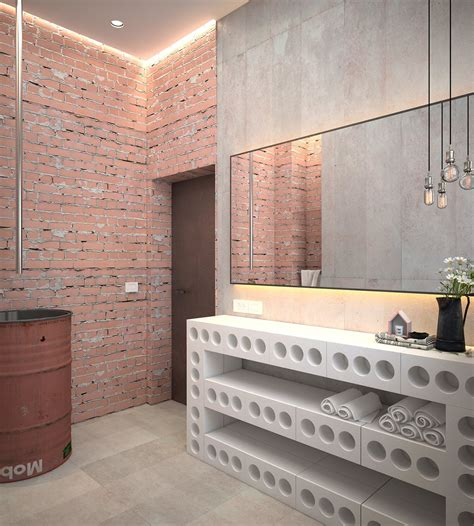an industrial home with warm hues an industrial home with warm hues