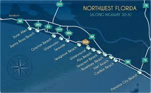 30a florida map explore beautiful towns on scenic highway 30 a