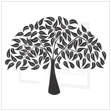 Family Tree Stencil 2 Family Tree Template Tree Stencil Tree Stencil Template