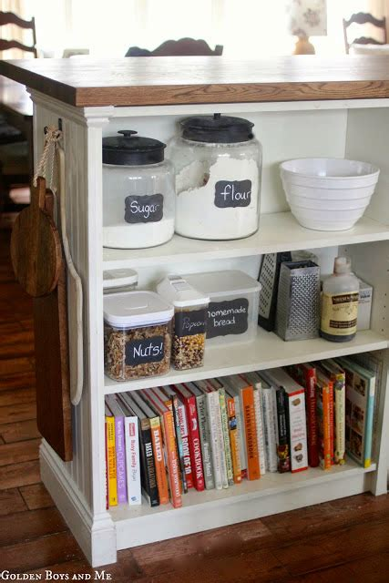 Kitchen Bookcase Ideas - billy bookshelves kitchen island ikea hackers ikea hackers