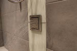 spray bathroom tiles what s in tile showers right now and other flooring