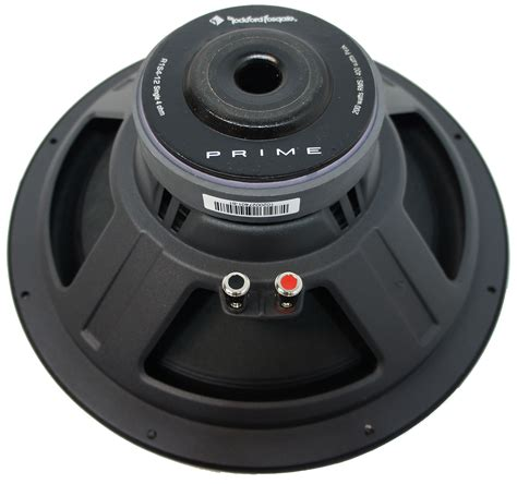 Speaker Simbadda Cst 01 Rms 38 Watt rockford fosgate r1s412 prime 12 inch sub 4 ohm svc 150 watt rms car audio subwoofer rock16 r1s412
