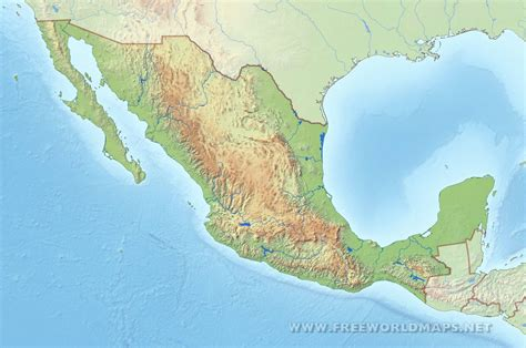 map of rivers in mexico rivers in mexico map 6 maps update 800604 of and mountain