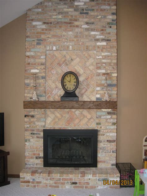 diy mantel shelf for brick fireplace google search dyi