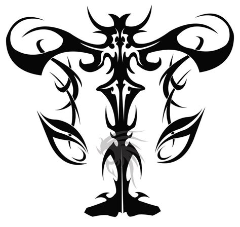 tribal libra tattoos for men tribal libra scales design photo 4 tattoos