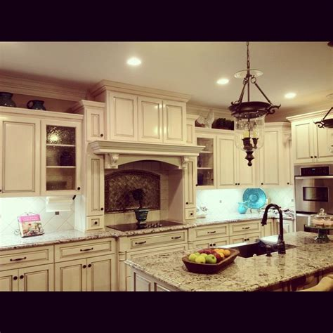 Stain Kitchen Cabinets With Glaze This Is Our Beautiful Glazing White Kitchen Cabinets