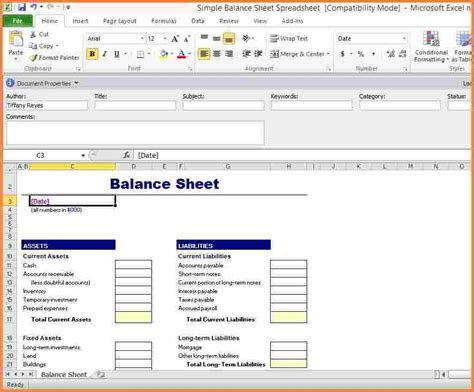 Balance Spreadsheet by 6 Balance Spreadsheet Excel Spreadsheets