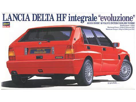 Lancia Delta Integrale Price 1 24 Lancia Delta Hf Integrale Quot Evoluzione Quot By Hasegawa