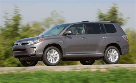 Toyota Highlander 2011 Car And Driver