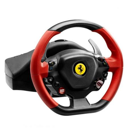 volante thrustmaster xbox one volante racing 458 spider xbox one thrustmaster