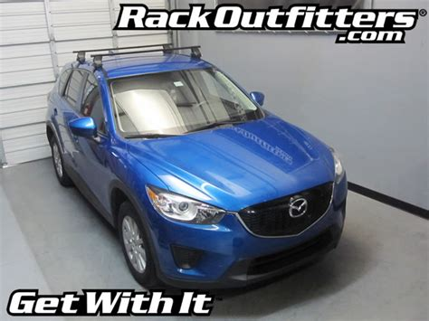 2014 Mazda Cx 5 Roof Rack by New Mazda Cx 5 Thule Traverse Square Bar Roof Rack 13 15