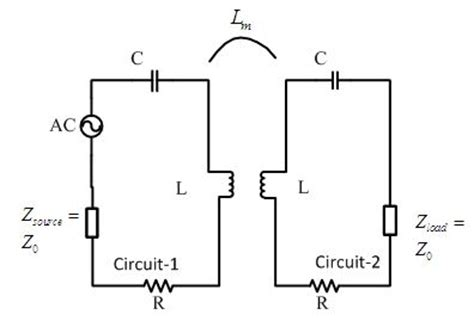 inductive coupling equivalent circuit wireless power transmission via magnetic resonant coupling assignment point