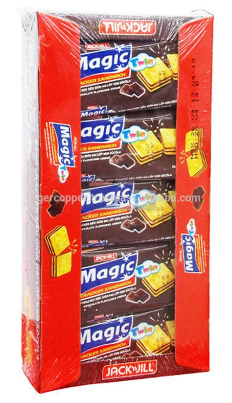 Biscuit Magic Cracker Sandwich magic cracker sandwich chocolate flavoured box