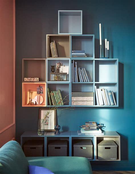 Open cabinet wall storage ideas