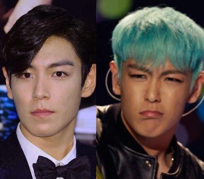 J011051931 Jepit Rambut Korea Hijau korean style pria korea dengan rambut bunglon pirang hingga pink 3
