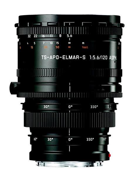 swing and tilt lenses leica ts apo elmar s 120 mm f 5 6 asph price release date