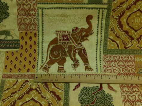 elephant pattern fabric uk elephant print indian style curtain fabric material fabric