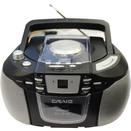 cassette player boombox craig cd boombox with am fm radio and cassette player