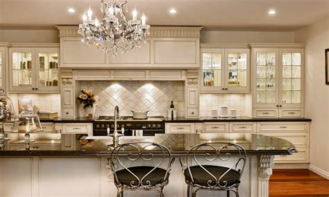 french country kitchen with white cabinets white french country style white french country
