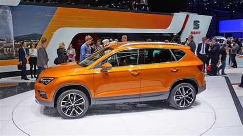 seat ateca 2016 genf 2016 seat ateca weltpremiere seats erstes suv