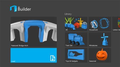3d house builder microsoft debuts 3d printing app for windows 8 1 pcworld