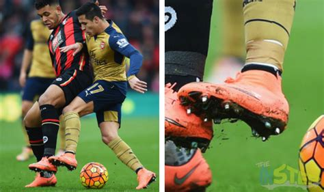 alexis sanchez boots boot spotting 8th february 2016 the instep