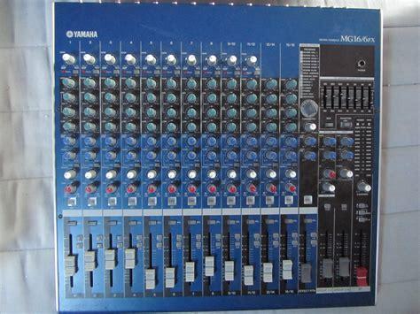 Mixer Yamaha Mg 16 Fx yamaha mg16 6fx image 288402 audiofanzine