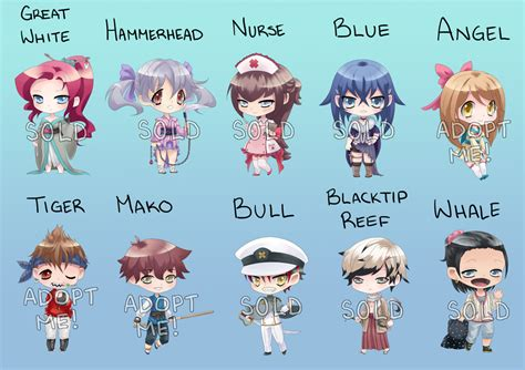Blue Prints For Homes Shark Baby Adopts Closed By Ayeru On Deviantart