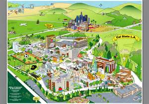 Cal State La Campus Map by Csula Images Calendar Template 2016