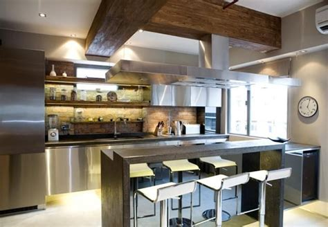new york style loft kitchen provest designer apartments