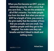 Emt Saving Lives Quotes QuotesGram