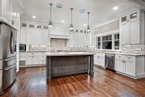 custom white kitchen cabinets home design