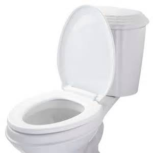 commode bathroom elongated self closing toilet seat bathroom