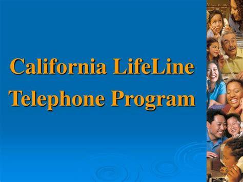 ppt california lifeline telephone program powerpoint presentation id 220480