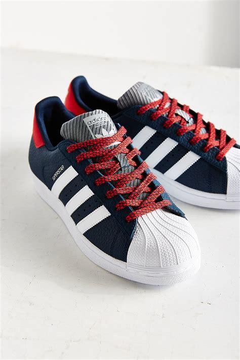 Superstar Varsity adidas superstar varsity jacket pack sneaker in blue lyst