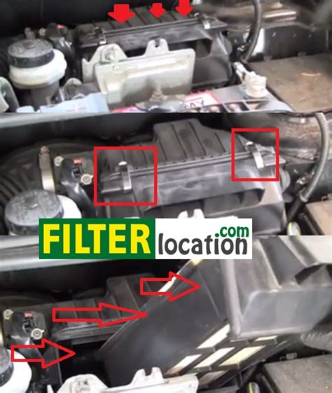 nissan sentra air filter how to replace the engine air filter on nissan sentra 2007