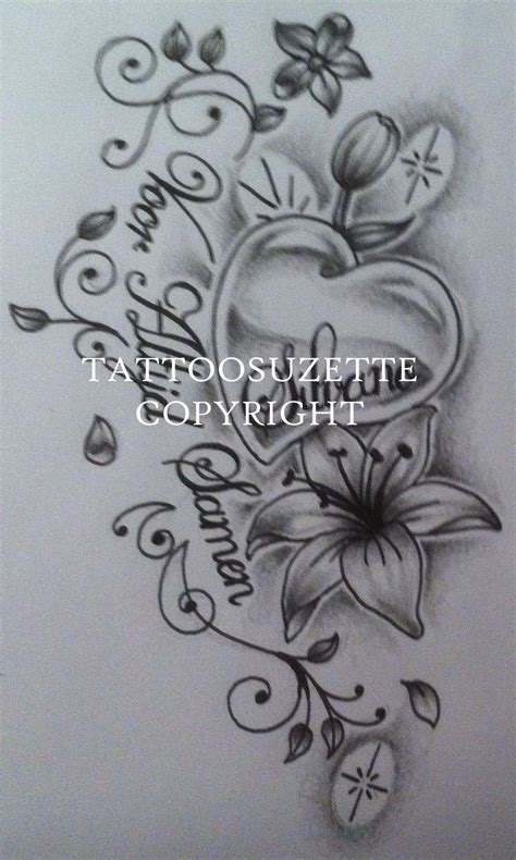 butterfly and lily tattoo designs 26 tattoos designs