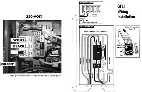 wiring diagram for a 50 gfci spa panel wiring diagram odicis