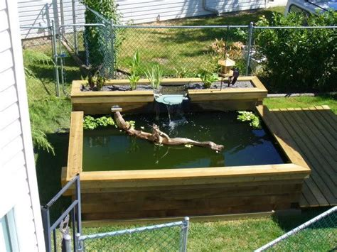 backyard fish pond kits above ground turtle pond kits bing images turtle