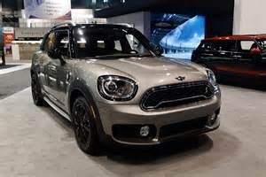 the new mini countryman e at the 2017 chicago auto show