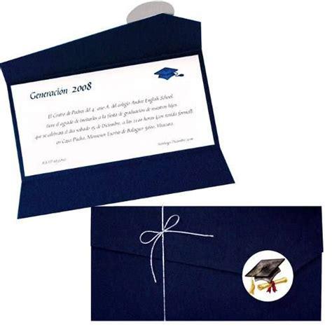 invitaciones para preescolar clausura con reciclado 17 mejores ideas sobre invitaciones de graduaci 243 n en