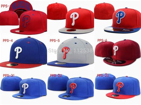 retail p baseball caps philadelphia phillies fitted