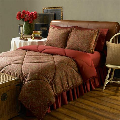 Ralph Bed Set by Ralph Abenhall Paisley Comforter Bed In A Bag Set New