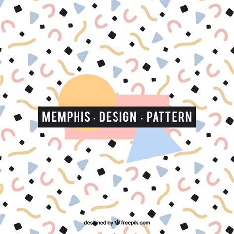 memphis pattern ai abstract memphis style pattern vector premium download