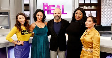 jeffrey wright on the real the real a daytime talk show with co hosts adrienne