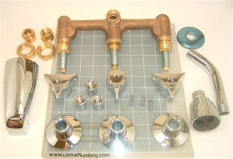 Kingston Brass Faucet Parts Nickbarron Co 100 Triple Handle Tub And Shower Faucet