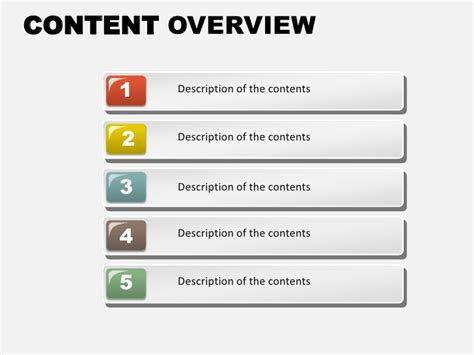 powerpoint layout title text content content overview free powerpoint charts