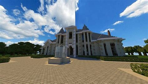 french country manor � minecraft house design